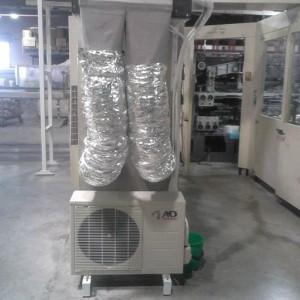 """Εγκατάσταση κλιματιστικών με κανάλια στη χαρτοβιομηχανία """"MAXI"""" (+ νέα Α/C Αύγουστος 2012)"""