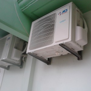 Εγκατάσταση κλιματιστικών σε ξενοδοχείο στην Λεπτοκαρυά Πιερίας