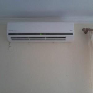 Εγκατάσταση κλιματιστικού στην Καρίτσα Πιερίας