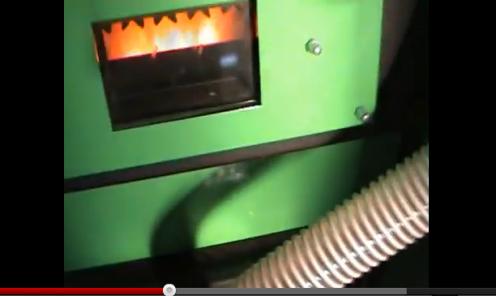 Λέβητας με καυστήρα πελλετ στο Λιποχώρι Σκύδρας