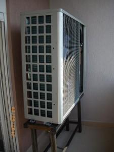 Αντλία θερμότητας υψηλών θερμοκρασιών POLARIS 13 ΚW  στο Πόγκραντετς
