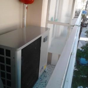 Εγκατάσταση αντλίας θερμότητας και fan coils σε ιατρείο στην Κατερίνη (Κωνσταντίνος Χατζηπαντελής)