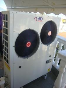 Η αντλία θερμότητας χαμηλών θερμοκρασιών KK 13 ΚW