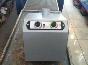 Ο καυστήρας βιομάζας ADGREEN B-ECO ρυθμίζεται με εξωτερικό ηλεκτρονικό χειριστήριο