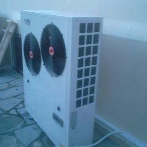 Αντλία θερμότητας χαμηλών θερμοκρασιών 17 KW στην Κατερίνη (Γιώργος Παναγιωτίδης)