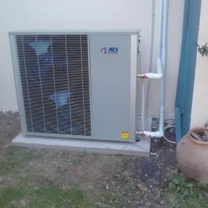 Αντλία θερμότητας υψηλών θερμοκρασιών 17 KW στην Κατερίνη (Βύρων Πασχαλίδης)