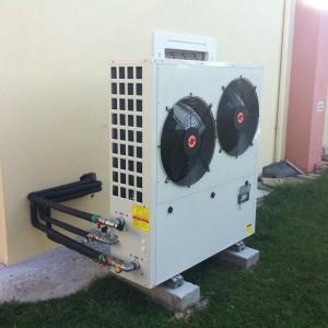 Αντλία θερμότητας χαμηλών θερμοκρασιών 25 KW στο Άργος Ορεστικό (Βασίλης Χρήστου)