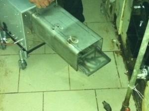 Ο καυστήρας ADGREEN 100 διαθέτει σύστημα αυτοκαθαρισμού και ειδικά σχεδιασμένη σχάρα καύσης