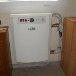 Εγκατάσταση ηλεκτρολέβητα 6 KW στην Κατερίνη (Δημήτρης Δημητρίου)