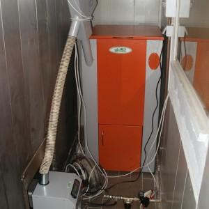 Καυστήρας πέλλετ ADGREEN OVEN 100 σε φούρνο στην Κατερίνη (Γιάννης Στεφανίδης)