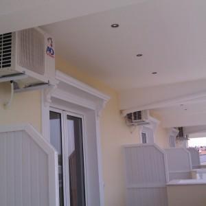 Εγκατάσταση κλιματιστικών στο ξενοδοχείο Panorama στην Ολυμπιακή Ακτή Πιερίας