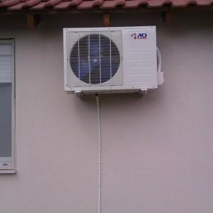 Εγκατάσταση κλιματιστικού στη Γανόχωρα Πιερίας (Μαρία Σαραβέλα)