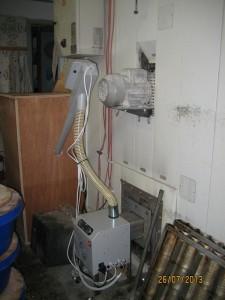 Καυστήρας πέλλετ ADGREEN στις Ράχες