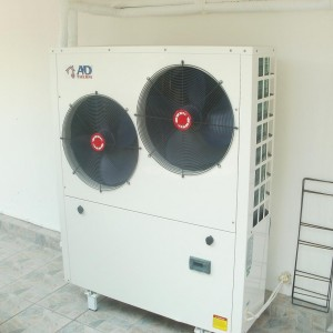 Αντλίες θερμότητας σε πολυκατοικία στην Κατερίνη (Λάζαρος Αμβροσιάδης)