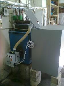 μετατροπή λέβητα πετρελαίου σε πέλλετ με καυστήρα ADGREEN