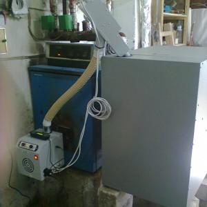 Μετατροπή λέβητα πετρελαίου με καυστήρα πέλλετ στο Άργος Ορεστικό (Αλέξανδρος Σαρρής)