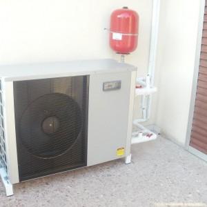 Αντλία θερμότητας και fan coils σε διαμέρισμα στη Θεσσαλονίκη (Θόδωρος Παπαδόπουλος)