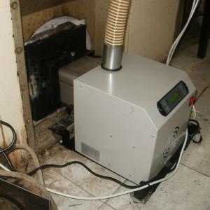 Καυστήρας πέλλετ σε φούρνο αρτοποιείου στο Λιτόχωρο Πιερίας (Αφοί Γουντσιώτη)