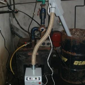 Καυστήρας πέλλετ σε λέβητα πετρελαίου στον Καταχά Πιερίας (Λέανδρος Αθανασιάδης)