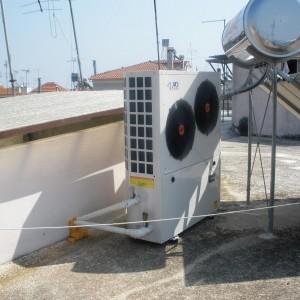 Αντλία θερμότητας σε διαμέρισμα 120 τμ με θερμαντικά σωματα στην Κατερίνη (Γιώργος Μιχαηλίδης)