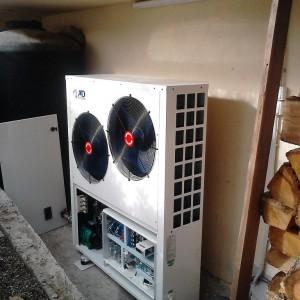 Εγκατάσταση Αντλία θερμότητας στο Αιγίνιο Πιερίας