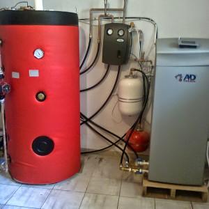 Αντλία θερμότητας για ζεστό νερό χρήσης WATER PLUS στην Αλεξανδρούπολη (Νίκος Νάκας)