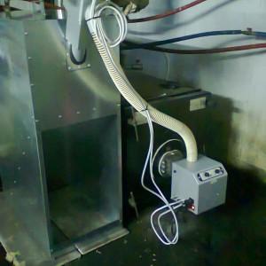 Μετατροπή λέβητα πετρελαίου με καυστήρα πέλλετ στην Κατερίνη (Νίκος Γεωργούλης)