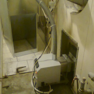 Μετατροπή φούρνου αρτοποιείου με καυστήρα πέλλετ στην Κατερίνη (Αφοί Καραγκιοζίδη)