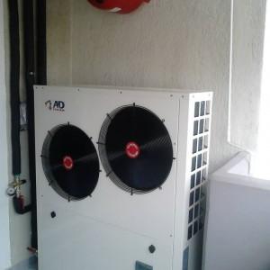 Αντλία θερμότητας σε ενδοδαπέδιο σύστημα στην Ξάνθη