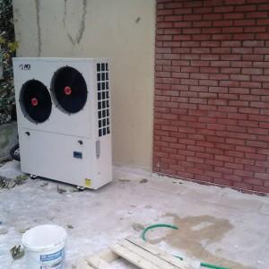 Αντλία θερμότητας για θέρμανση και ψύξη στο Ρετζίκι Θεσσαλονίκης (Γιώργος Μωυσιάδης)