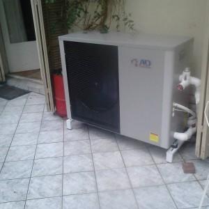 Εγκατάσταση αντλίας θερμότητας σε διαμέρισμα στην Κατερίνη (Ναυσικά Καζαντζόγλου)