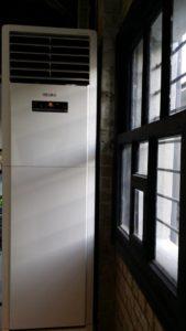 Κλιματιστική ντουλάπα σε γυμναστήριο