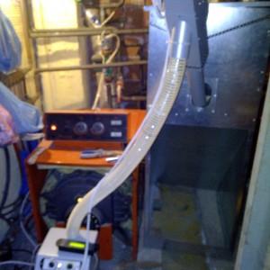Καυστήρας πέλλετ σε λέβητα πετρελαίου REMEHA στην Περίσταση Πιερίας (Συμεών Ντακούλας)