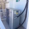 Αντλία θερμότητας σε ξενοδοχείο στην Παραλία Κατερίνης για ζεστά νερά χρήσης και θέρμανση (Ζέφυρος)