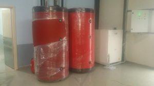 Δοχεία αδράνειας με γεωθερμική αντλία θερμότητας